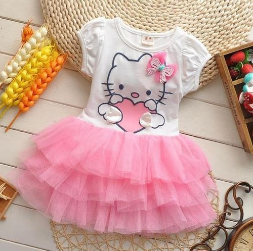 Tutu-Kleid mit Hello Kitty Motiv